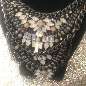 2 piece silver necklace